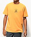 Teddy Fresh Embroidery Melon Orange T-Shirt