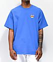 Teddy Fresh Heart Mom camiseta azul