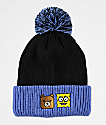 Teddy Fresh x SpongeBob SquarePants Black & Blue Pom Beanie