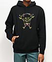 Teddy Fresh x SpongeBob SquarePants Embroidered Black Hoodie