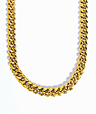 The Gold Gods 10mm collar de enlaces cubanos de miami