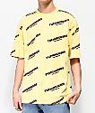 The Hundreds Card Yellow T-Shirt