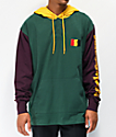 The Hundreds Miller Green Hooded Long Sleeve T-Shirt
