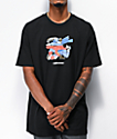 The Hundreds x Batman Punch Black T-Shirt