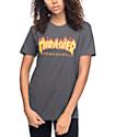 Thrasher Flame Logo Heavy Metal T-Shirt