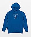 Thrasher Gonz sudadera con capucha azul real