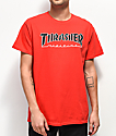 Thrasher Outlined camiseta roja