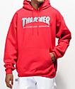 Thrasher Skate Mag Radical sudadera con capucha en rojo