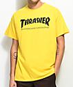 Thrasher Skate Mag Yellow T-Shirt