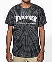 Thrasher Skate Mag camiseta teñida araña