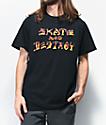 Thrasher Skate and Destroy BBQ Black T-Shirt