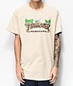 Thrasher Tiki camiseta beige