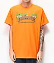 Thrasher Tiki camiseta naranja