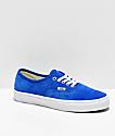 Vans Authentic Pig Suede Princess zapatos de skate azules