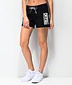 Vans Avenue shorts negros de rizo francés