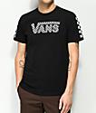 Vans Basic Drop Check Fill camiseta negra