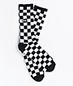 Vans Black & White Checker Crew Socks