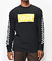 Vans Box Vee Black Long Sleeve T-Shirt