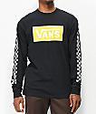 Vans Box Vee camiseta negra de manga larga