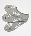 Vans Canoodle paquete de 3 calcetines invisibles gris jaspeado