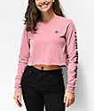 Vans Castmore Rose Long Sleeve Crop T-Shirt