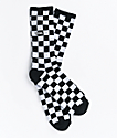 Vans Checker calcetines en blanco y negro