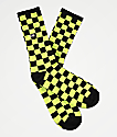 Vans Checkerboard II Sharp calcetines verdes