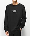 Vans Checkmate III Black Long Sleeve T-Shirt