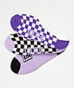 Vans Checks Out Canoodle paquete de 3 calcetines invisibles