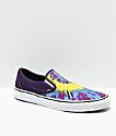 Vans Classic Slip-On Misterio Tie Dye zapatos de skate