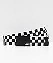 Vans Deppster Black & White Checkered Web Belt