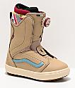Vans Encore OG 2020 botas de snowboard marrones para mujeres