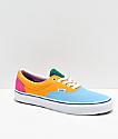 Vans Era zapatos de skate de colores vibrantes