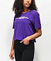 Vans Funnier Violet Crop T-Shirt