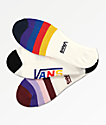 Vans Half Stripe Canoodle 3 Pack No Show Socks