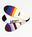 Vans Half Stripe Canoodle paquete de 3 calcetines invisibles