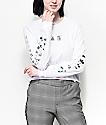 Vans Iridescent Box camiseta corta de manga larga blanca