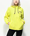 Vans Kastle Turvey chaqueta cortavientos amarillo neón
