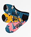 Vans Kick Back Canoodle paquete de 3 calcetines invisibles