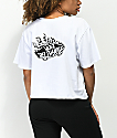 Vans Off The Wall Flame camiseta corta blanca