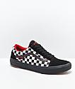 Vans Old Skool Peraza Pro zapatos de skate negros de cuadros
