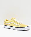 Vans Old Skool Pro Pale Banana zapatos de skate