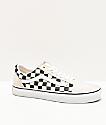Vans Old Skool zapatos de skate de cuadros blancos