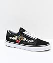 Vans Old Skool zapatos de skate de flores y cuadros