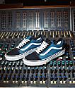 Vans Old Skool zapatos de skate en azul marino