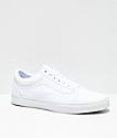 Vans Old Skool zapatos de skate en blanco