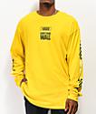Vans Pacific Sulfur camiseta amarilla de manga larga