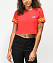 Vans Pit Crew camiseta corta roja
