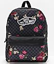 Vans Realm Botanical Checkerboard Backpack