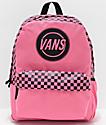 Vans Realm Taper Off Azalea Pink Backpack